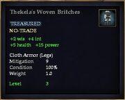 Thekela's Woven Britches