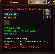 Protector's Moon Etched Tunic