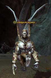 A holgresh incanter