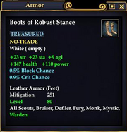 Boots of Robust Stance