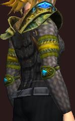 Vesspyr Workmans Green Mantle (Equipped)