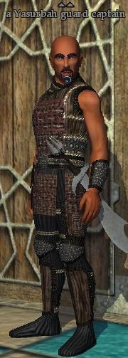 A Yasurbah guard captain