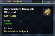 Brewmeister's Backpack Blueprint