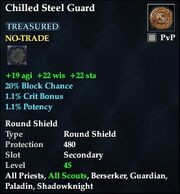 Chilled Steel Guard