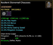 Resilient Stonemail Chausses