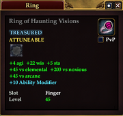 Ring of Haunting Visions