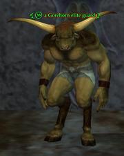 A Gorehorn elite guard