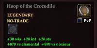 Hoop of the Crocodile
