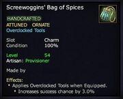 Screewoggins' Bag of Spices