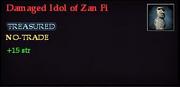 Damaged Idol of Zan Fi