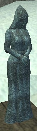 Frosted Marble Statue of the Sisterhood (placed)