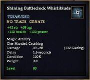 Shining Battleclock Whirliblade