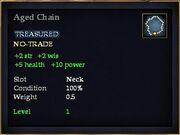 Aged Chain