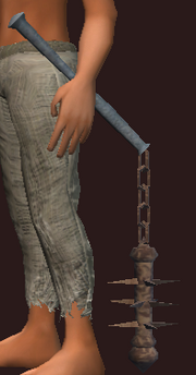 Blessed Iron Flail (Equipped)