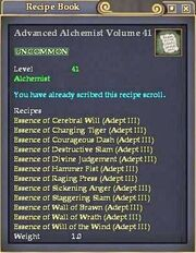 Advanced Alchemist Volume 41