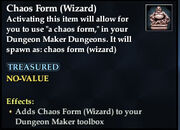 Chaos Form (Wizard)