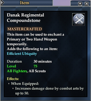 Danak Regimental Compoundstone