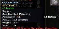 Neriak Practice Dagger