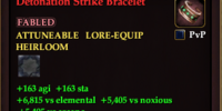 Detonation Strike Bracelet