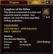 Longbow of the Fallen
