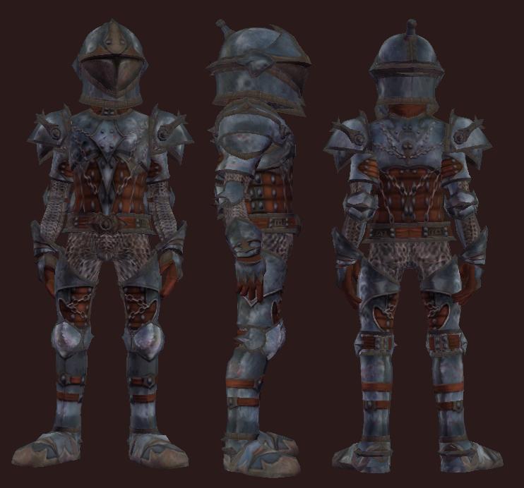 Battleworn Gruengach Armor (Equipped)