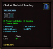 Cloak of Blanketed Treachery