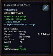 Moonsteel Great Mace
