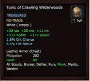 Tunic of Crawling Wilderwoods