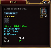 Cloak of the Firesoul