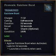 Firework Rainbow Burst