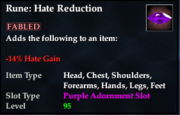 Rune- Hate Reduction