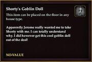 Shorty's Goblin Doll
