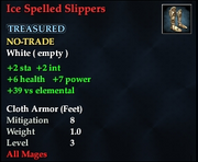 Ice Spelled Slippers