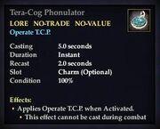 Tera-Cog Phonulator
