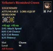 Velketor's Blemished Crown