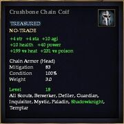 Crushbone Chain Coif