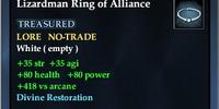 Lizardman Ring of Alliance