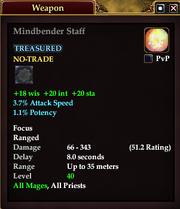 Mindbender Staff