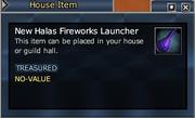 New Halas Fireworks Launcher