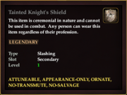 Tainted Knight's Shield
