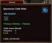 Qeynosian Cloth Mitts