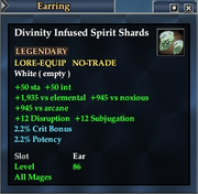 Divinity Infused Spirit Shards