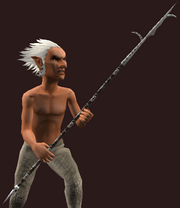 Fishbone Greatspear (Equipped)