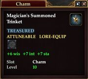 Magician's Summoned Trinket