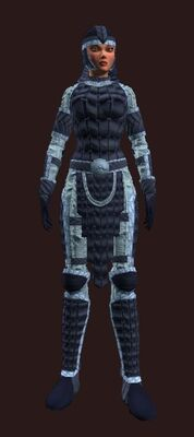 Steppes bear (Armor Set) (Visible, Female)
