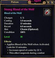 Strong Blood of the Wolf