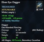 Ebon Eye Dagger