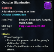 Oracular Illumination