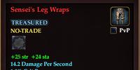 Sensei's Leg Wraps