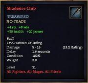 Shadesire Club